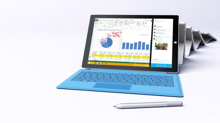 Userfarm: nuova gara legata a Surface Pro 3, Il tablet che sostituisce il tuo laptop