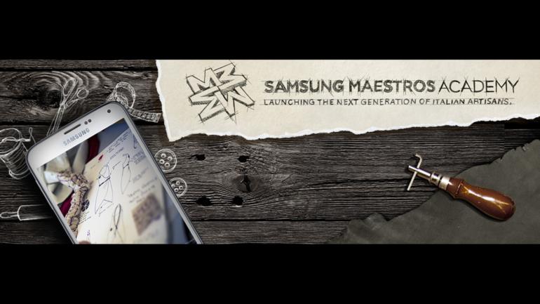Nasce Samsung Maestros Academy @ IED,  il primo corso per artigiani digitali