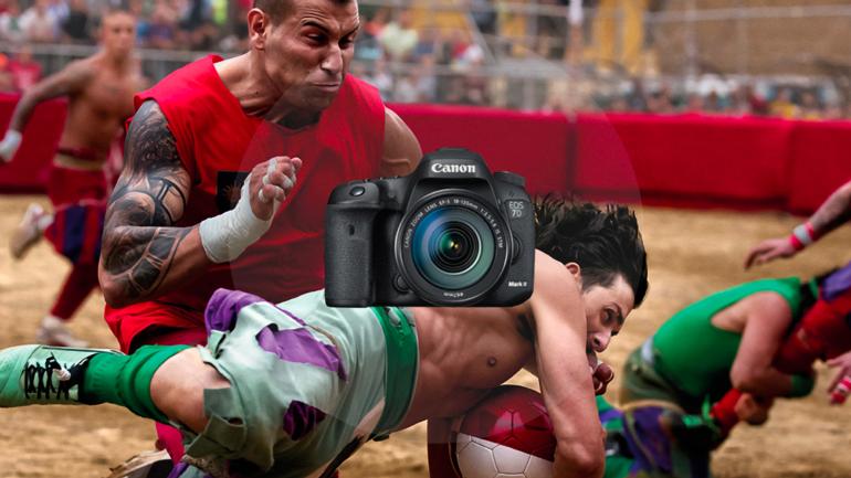 Nuova promozione Canon: entra in azione e non perdere l'attimo con EOS 7D Mark II