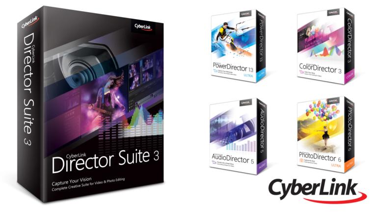 Software – Cyberlink Director Suite 3