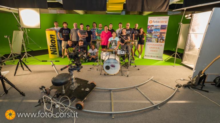 Master Class dedicato alla produzione di videoclip musicali in studio