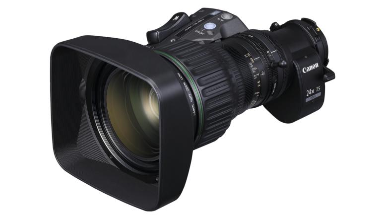 Canon HJ24ex7.5B: un'ottica eccezionale compatta e leggera ideale per le produzioni TV HD