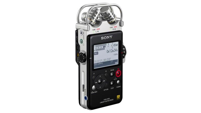 Grande successo  per il registratore audio PCM-D100 di Sony