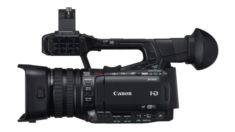 Canon migliora la funzionalità di XF200 e XF205 con l'aggiornamento gratuito del firmware