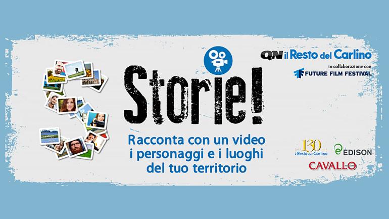 """Premio """"Storie! – Racconta con un video i personaggi e i luoghi del tuo territorio"""""""