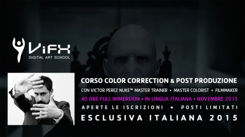ViFX - Corso Color Correction e Post Produzione