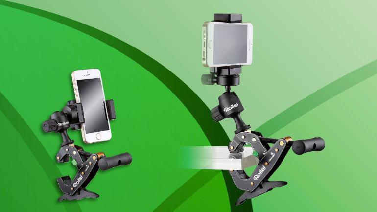 Rollei presenta il nuovo Clampod Set, il supporto a morsetto multi-funzionale e flessibile