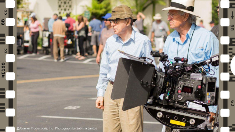 Woody Allen passa al digitale con Sony CineAlta F65