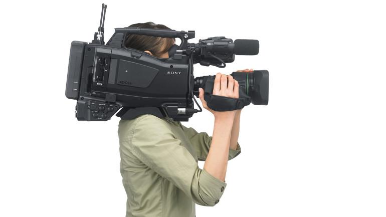 Sony presenta un nuovo camcorder a spalla XDCAM per news e broadcast