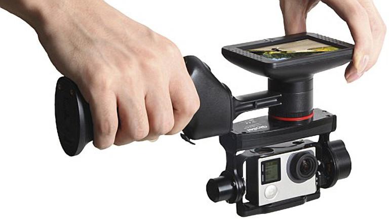 Riprese video a mano libera professionali: nuovi stabilizzatori motorizzati eGimbal di Rollei