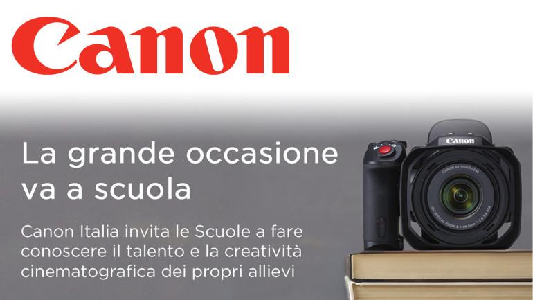 """Con Canon """"La Grande Occasione"""" va a scuola!"""
