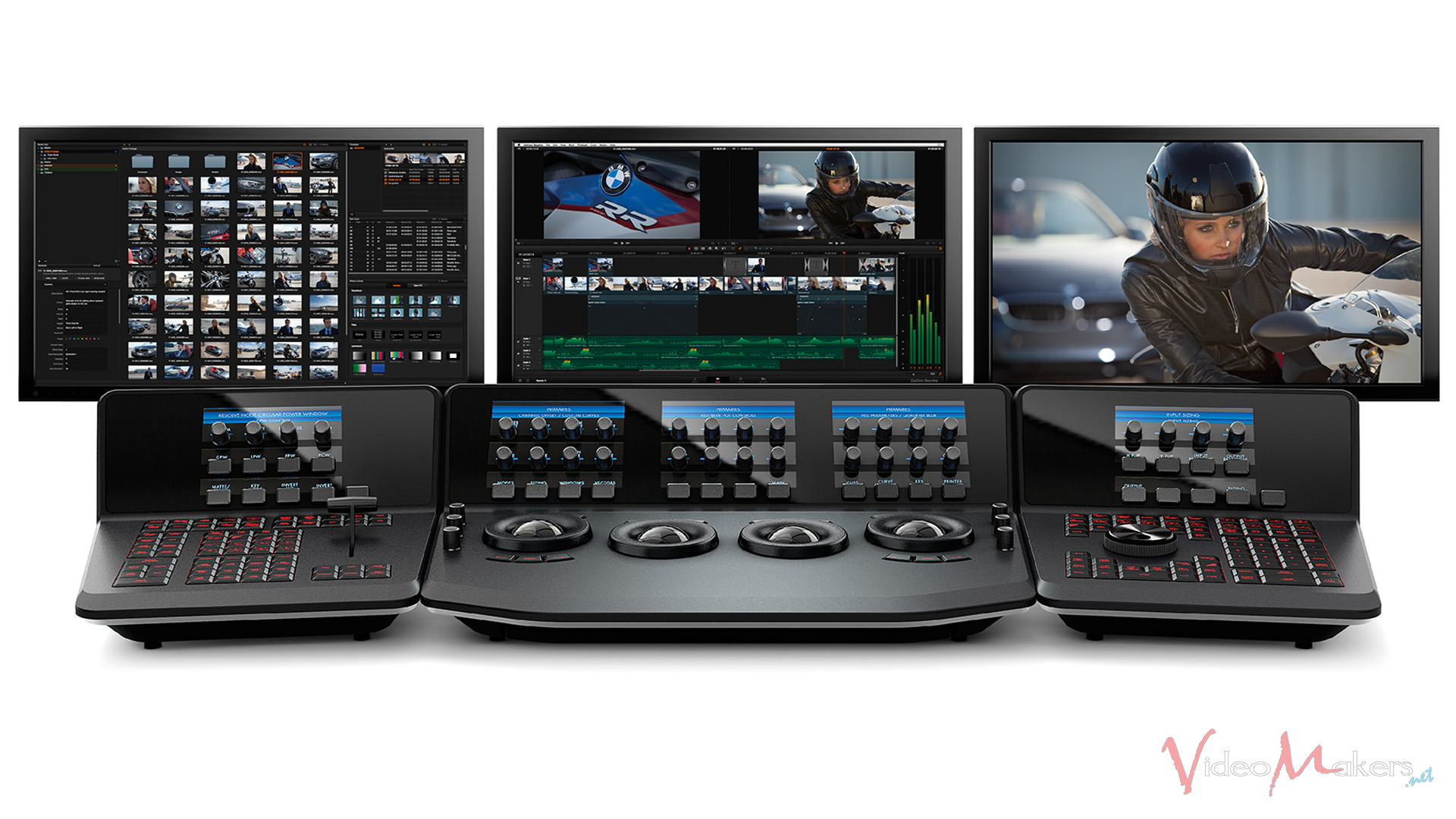 DaVinci Resolve 12 - Advanced Panel
