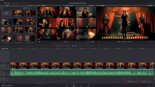 DaVinci Resolve 12 - Multicam