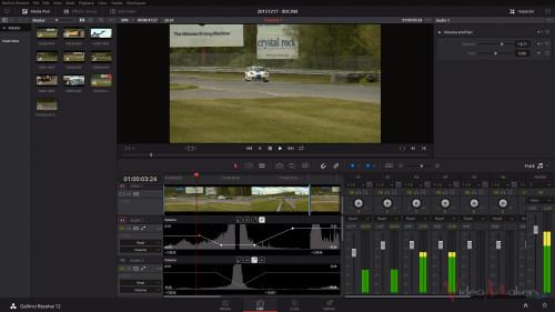 DaVinci Resolve 12 - Keyframe ed Editing Audio