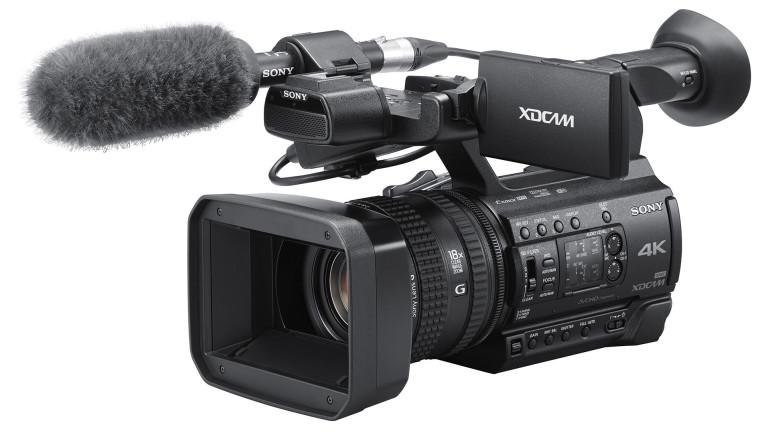 Sony presenta PXW-Z150: nuovo camcorder professionale compatto 4K