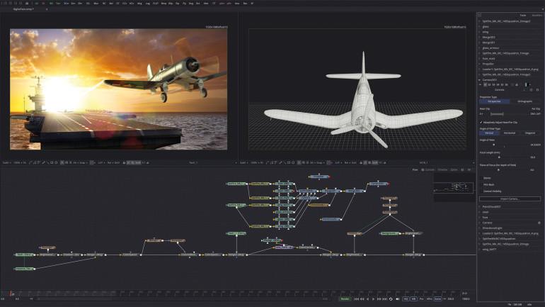 Blackmagic Design annuncia la versione gratuita di Fusion 8.2 compatibile con Linux