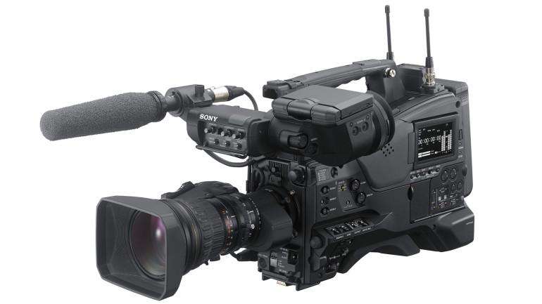 Sony: Primo camcorder XDCAM 4K a spalla al mondo con sensore dell'immagine da 2/3″