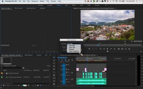 Adobe Premiere Pro CC 2016 - Didascalie & Sottotitoli