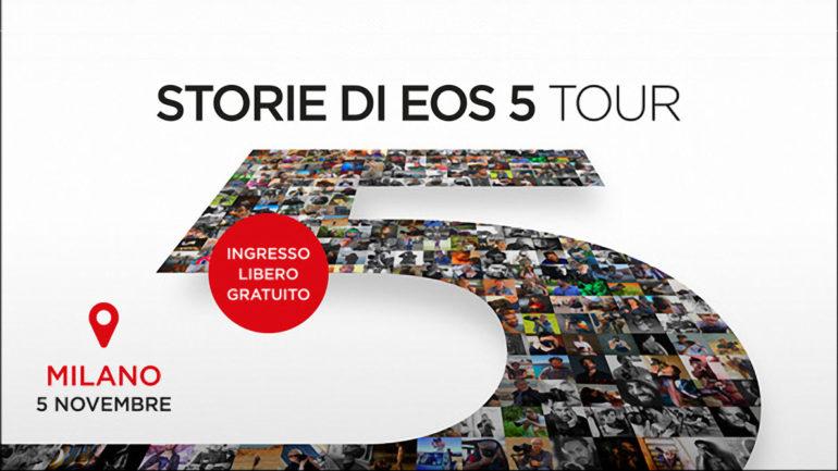 Storie di EOS 5 Tour: Emozione. Esperienza. Cultura.