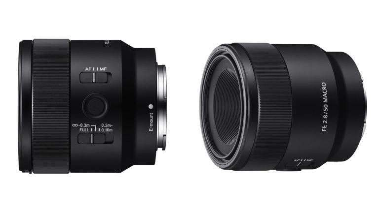 Sony lancia un obiettivo macro full frame F2.8 da 50mm
