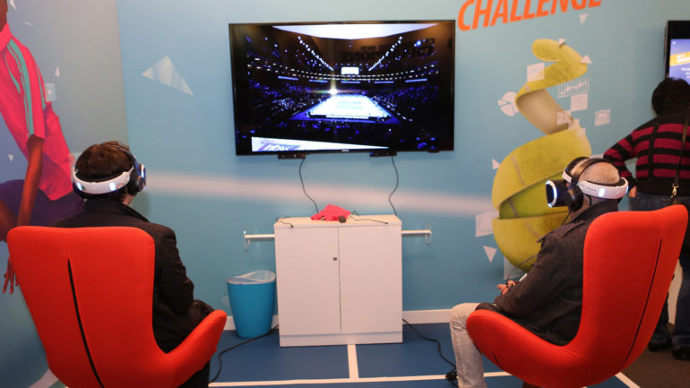 Barclays ATP World Tour Finals con tecnologia Infosys su PlayStation®VR