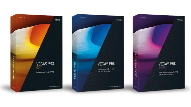 Software – VEGAS Pro 14
