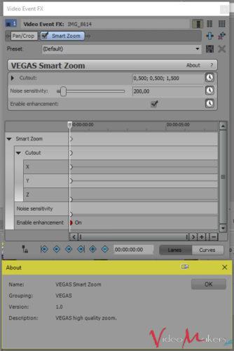MAGIX VEGAS Pro 14 - Nuovo effetto video SMART ZOOM
