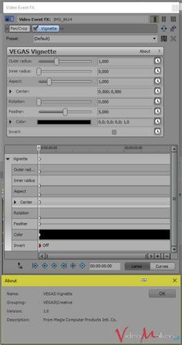 MAGIX VEGAS Pro 14 - Nuovo effetto video VIGNETTE
