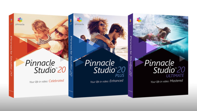 Software – Pinnacle Studio 20 Ultimate