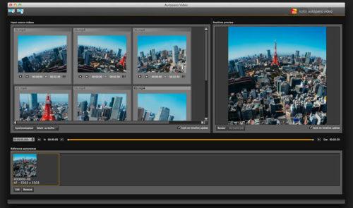 Video VR360 - Stitching