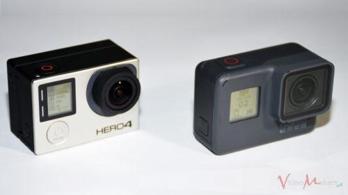 GoPro HERO5 Black vs HERO4 Black