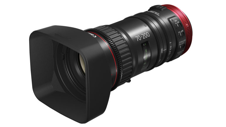Precisione e qualità per il nuovo obiettivo cine-servo Canon