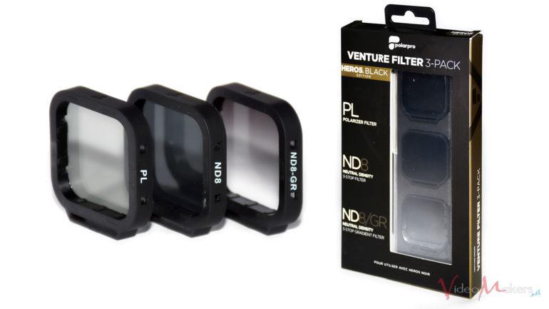 Action Cam – GoPro PolarPro Venture Filter 3-Pack