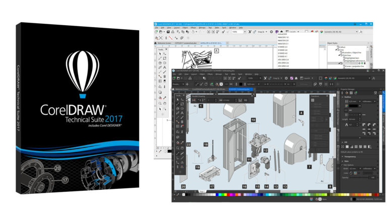 Nuovo CorelDRAW Technical Suite 2017