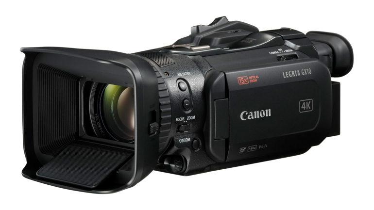 Canon Legria GX10: Nuova Videocamera 4K