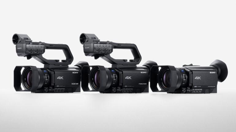Da Sony nuovi camcorder XDCAM PXW-Z90, NXCAM HXR-NX80 e Handycam FDR-AX700