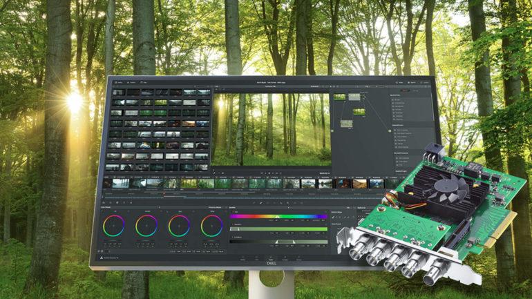 Blackmagic Design presenta DeckLink 8K Pro con 12G-SDI quad link
