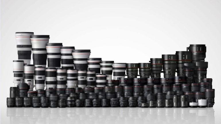 Canon festeggia la produzione di 90 milioni di fotocamere EOS