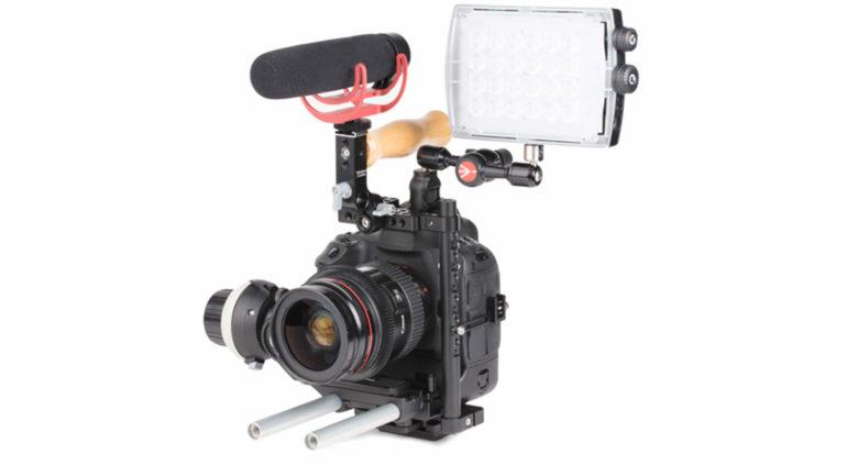 Manfrotto Camera Cage: Soluzione per CSC/DSLR sviluppata con Wooden Camera