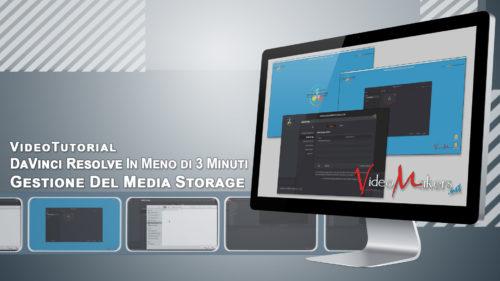 DaVinci Resolve - Gestione Del Media Storage
