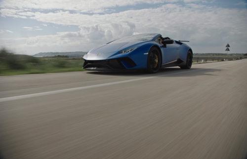 Dario Sbrana & Daniel Palluca - Lamborghini Huracán Performante Spyder