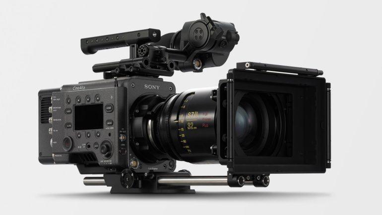 Sony aggiunge nuove e potenti caratteristiche alle telecamere cinematografiche VENICE