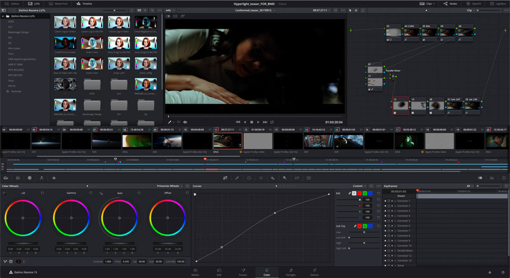 DaVinci Resolve 15 - Color