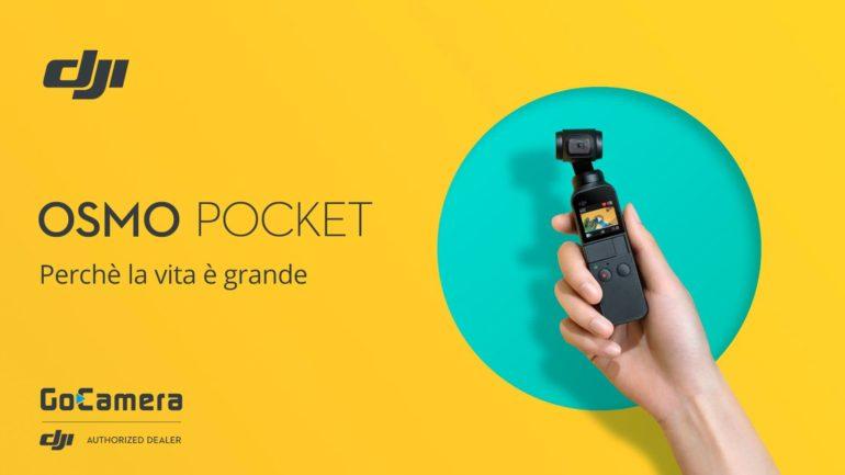 DJI Osmo Pocket: Nuovo sistema di ripresa tascabile