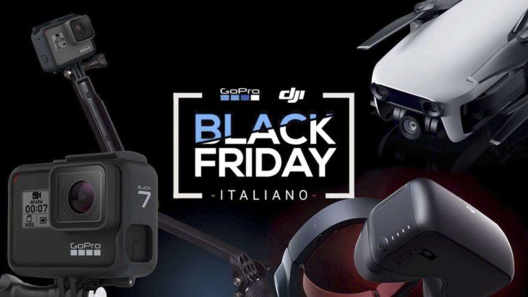In Italia arriva un Black Friday tutto dedicato a GoPro e DJI