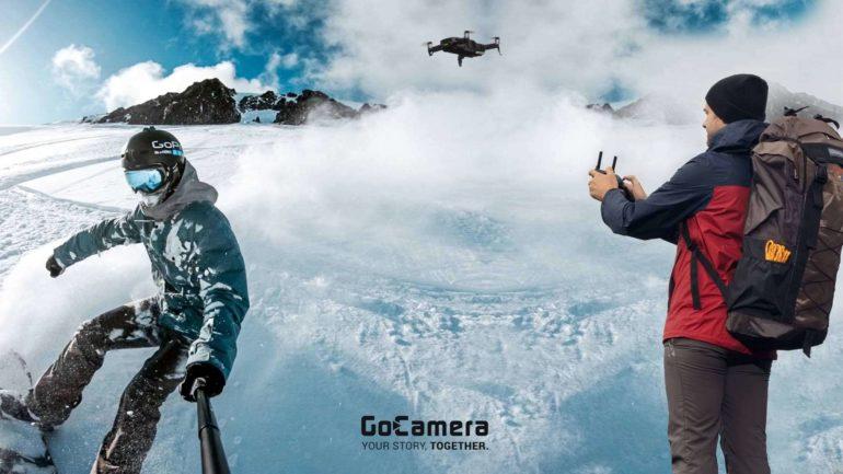 Action cam e droni spopolano negli sport invernali
