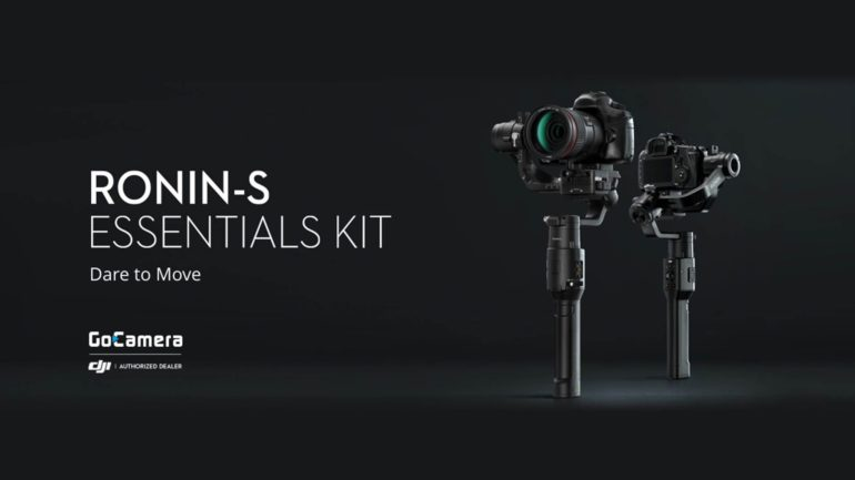 Nuovo DJI Ronin S Essentials Kit: il gimbal con solo il necessario