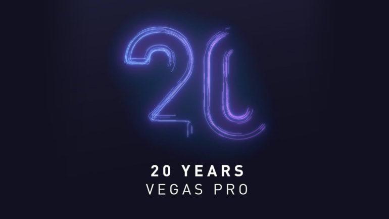 VEGAS Pro compie 20 Anni !