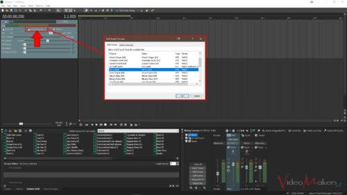 ACID Pro 8 - Strumenti MIDI (Soft Synth)