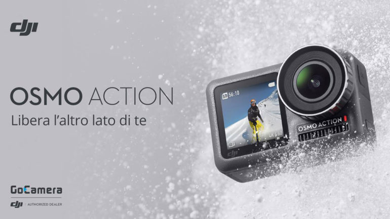 "Svelata la nuova action cam ""DJI Osmo Action"""